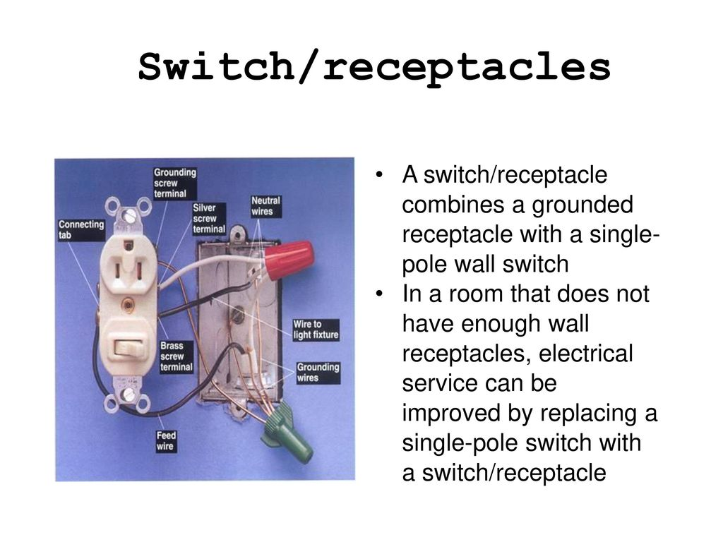 Special Purpose Electrical Switches Ppt Download Wall Switch Receptacle Wiring 10 Receptacles