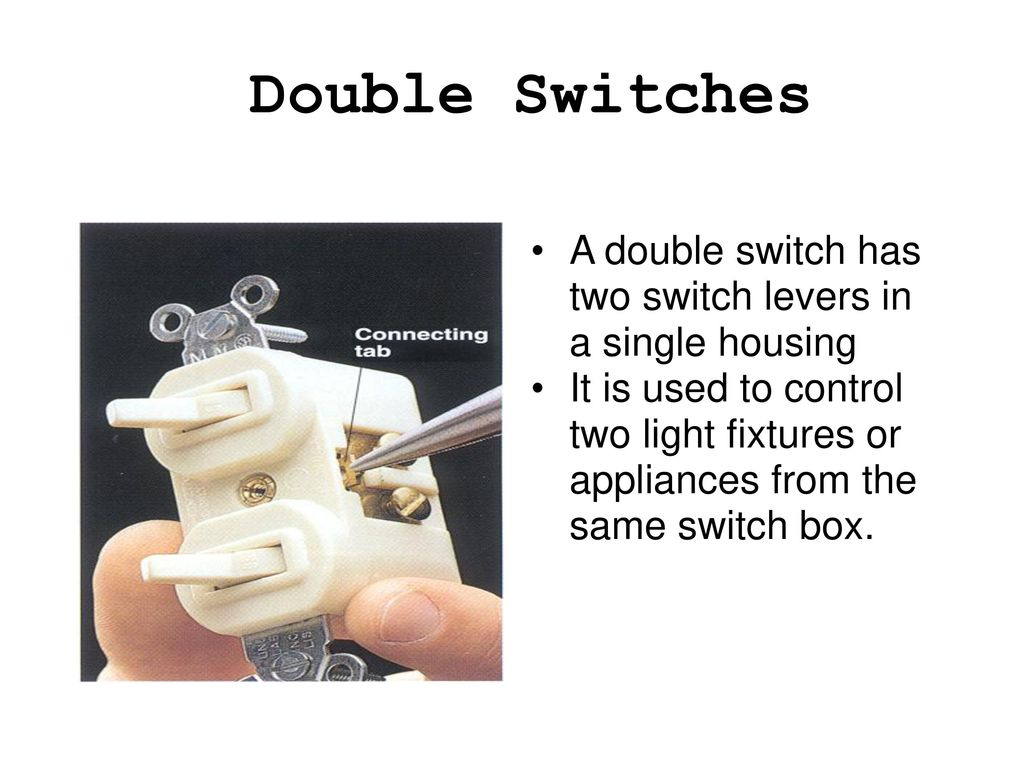 Special Purpose Electrical Switches - ppt download