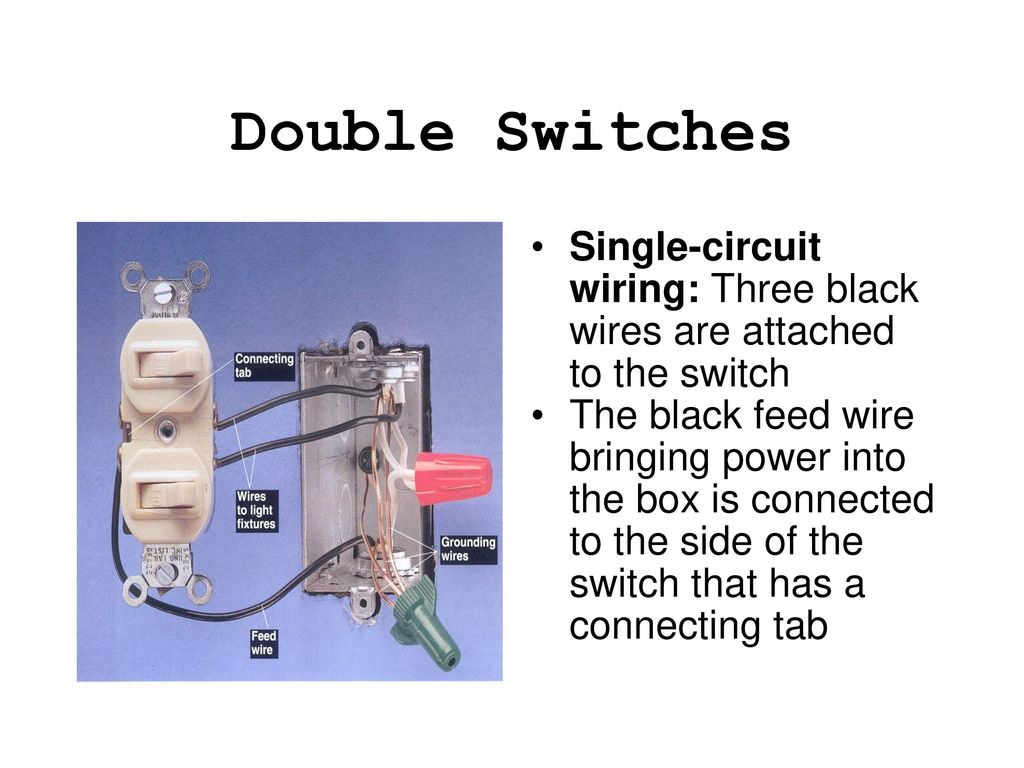 Special Purpose Electrical Switches Ppt Download Double Switch Box Wiring Diagram 3