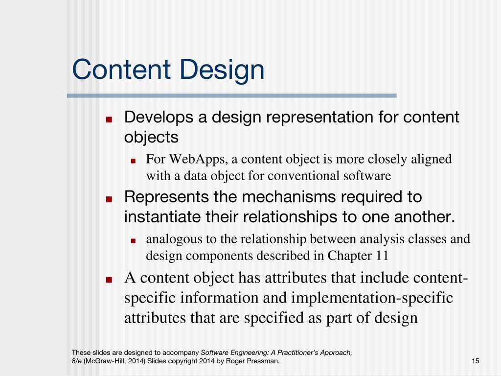 Chapter 17 Webapp Design Slide Set To Accompany Software Engineering A Practitioner S Approach 8 E By Roger S Pressman And Bruce R Maxim Slides Copyright Ppt Download