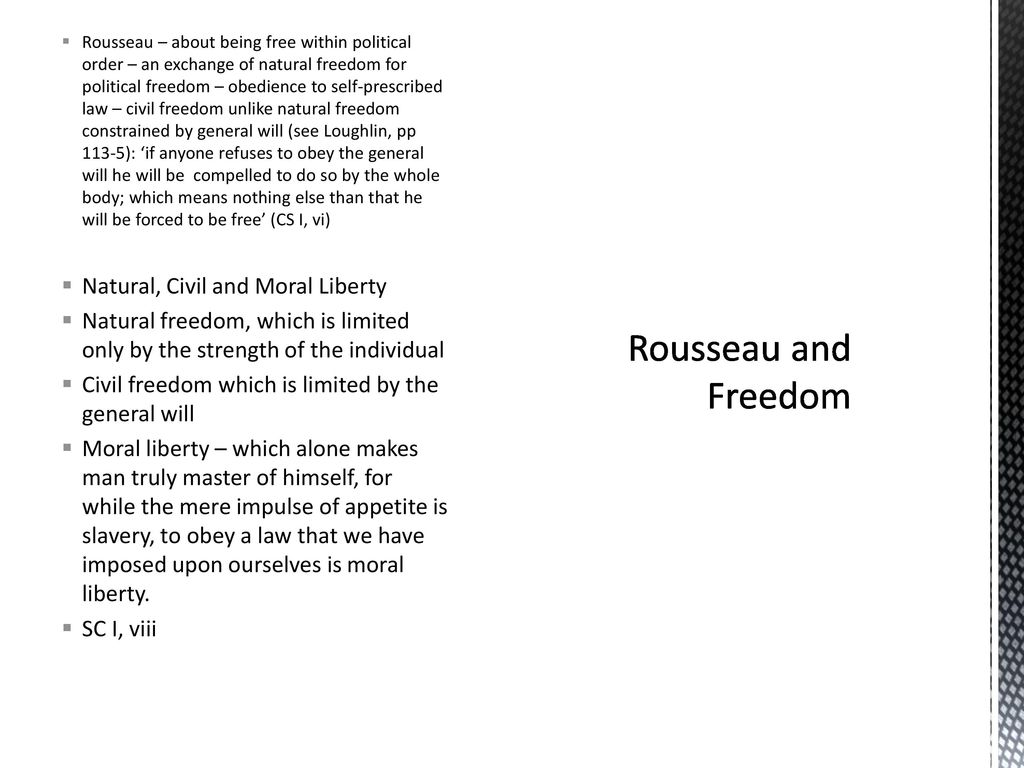 rousseau civil liberty