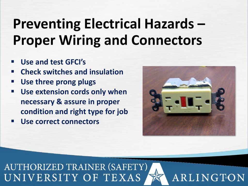 Electrical Safety Ppt Download Proper Wiring Preventing Hazards And Connectors