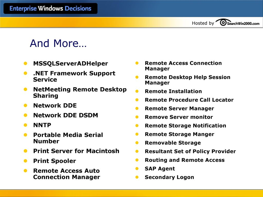 10 Best Practices for Windows Security - ppt download