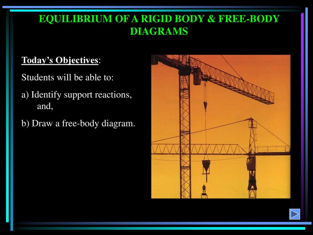 Equilibrium Of A Rigid Body Free Diagrams Ppt Download Engineering Statics Problem Solutions Diagram