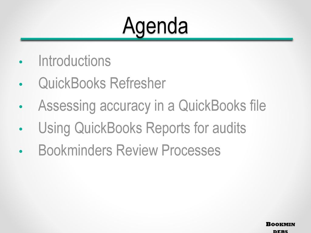 Advanced QuickBooks Analysis for CPAs - ppt download