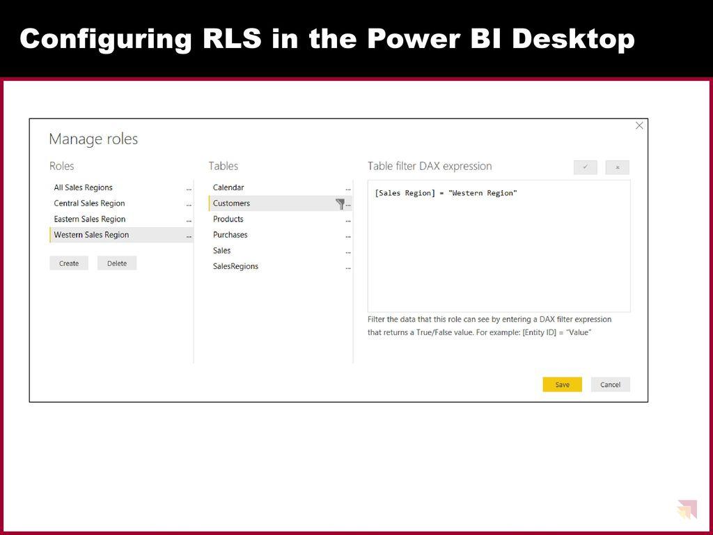 Power BI Security Best Practices - ppt download