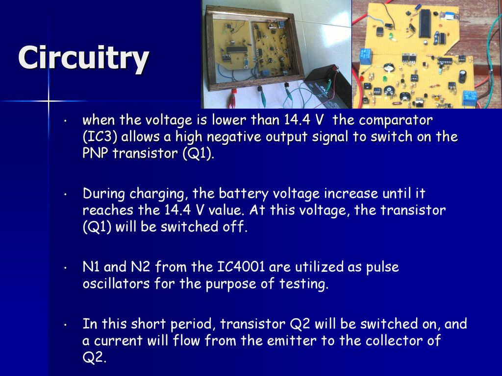 By Raed Wael Ennab Raja Saed Anabtawi Ppt Download Negative Pulse Will Provide A On Off Output Circuitry When The Voltage Is Lower Than 144 V Comparator Ic3 Allows