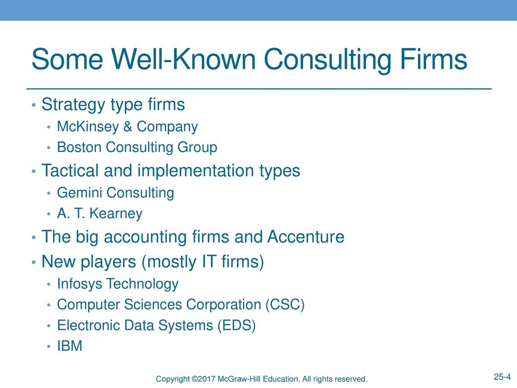 Accenture Consulting Firms