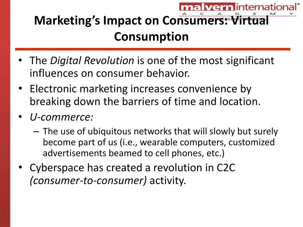 impact of digital revolution on consumer behavior
