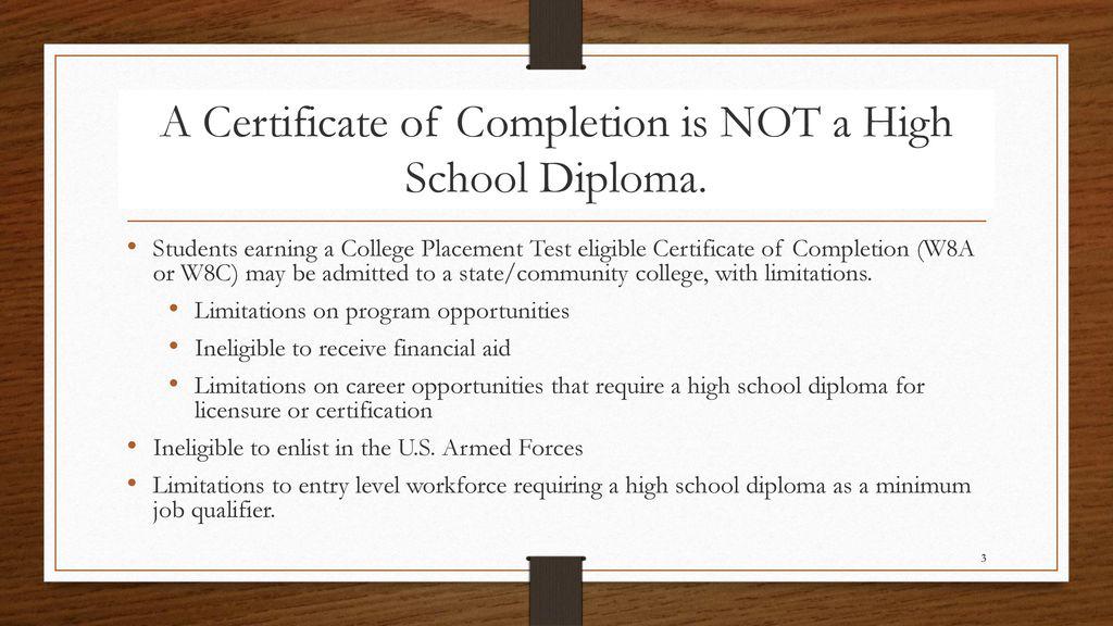 Graduation Requirements Ppt Download