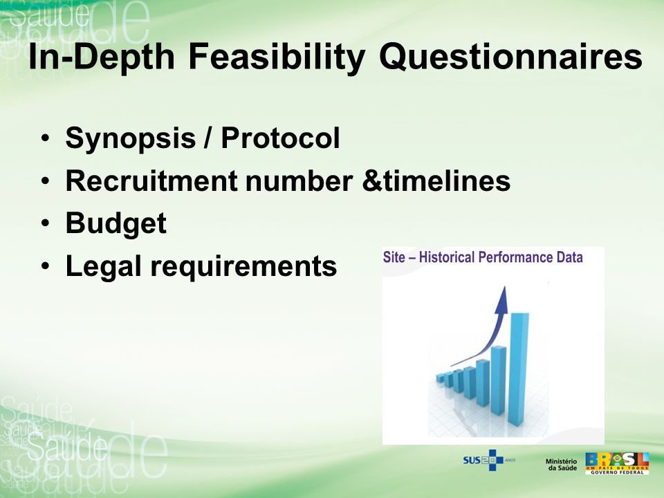 In-Depth Feasibility Questionnaires