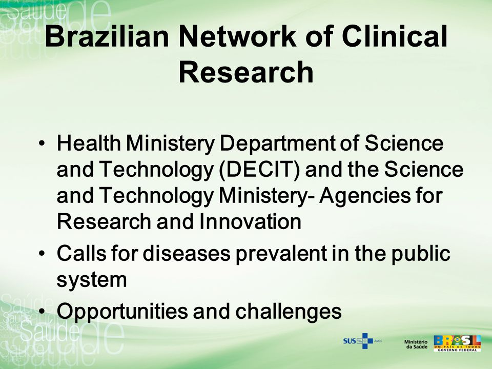 Brazilian Network of Clinical Research