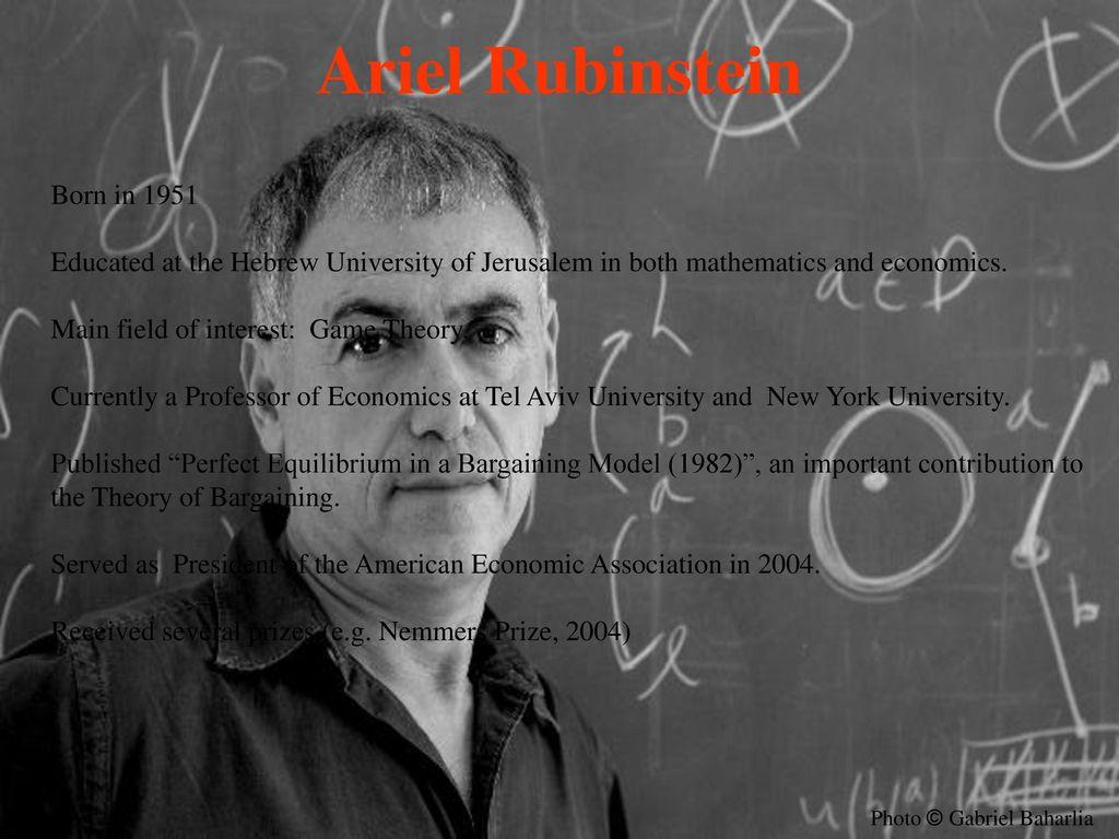 Dilemmas of an Economic Theorist - ppt download