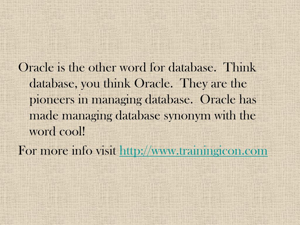 Online Oracle Training And Certification Your Gateway To A Brave