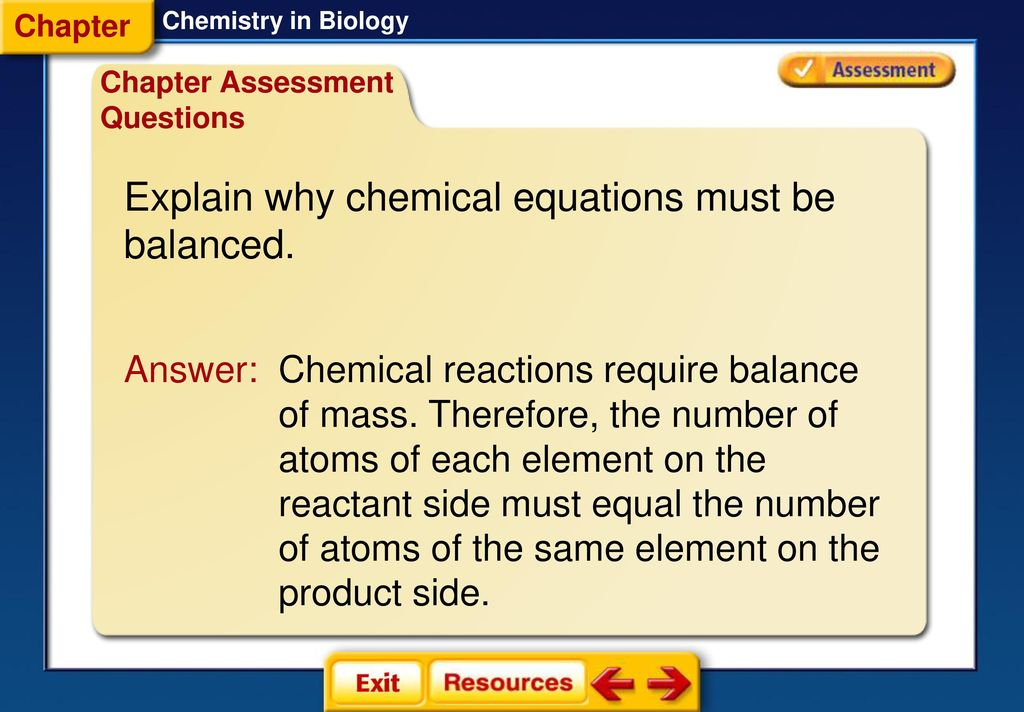 Chemistry In Biology Section 1 Atoms Elements And