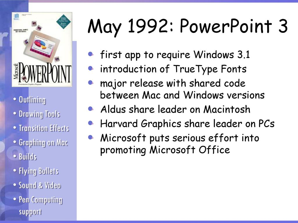 PowerPoint Historical Review - ppt download