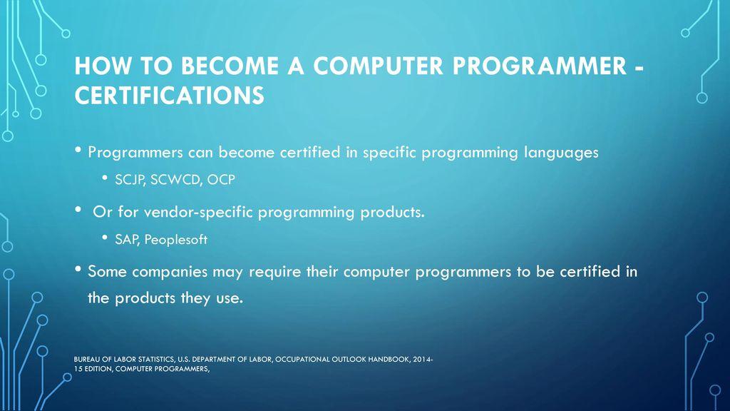 Computer Software Career Ppt Download