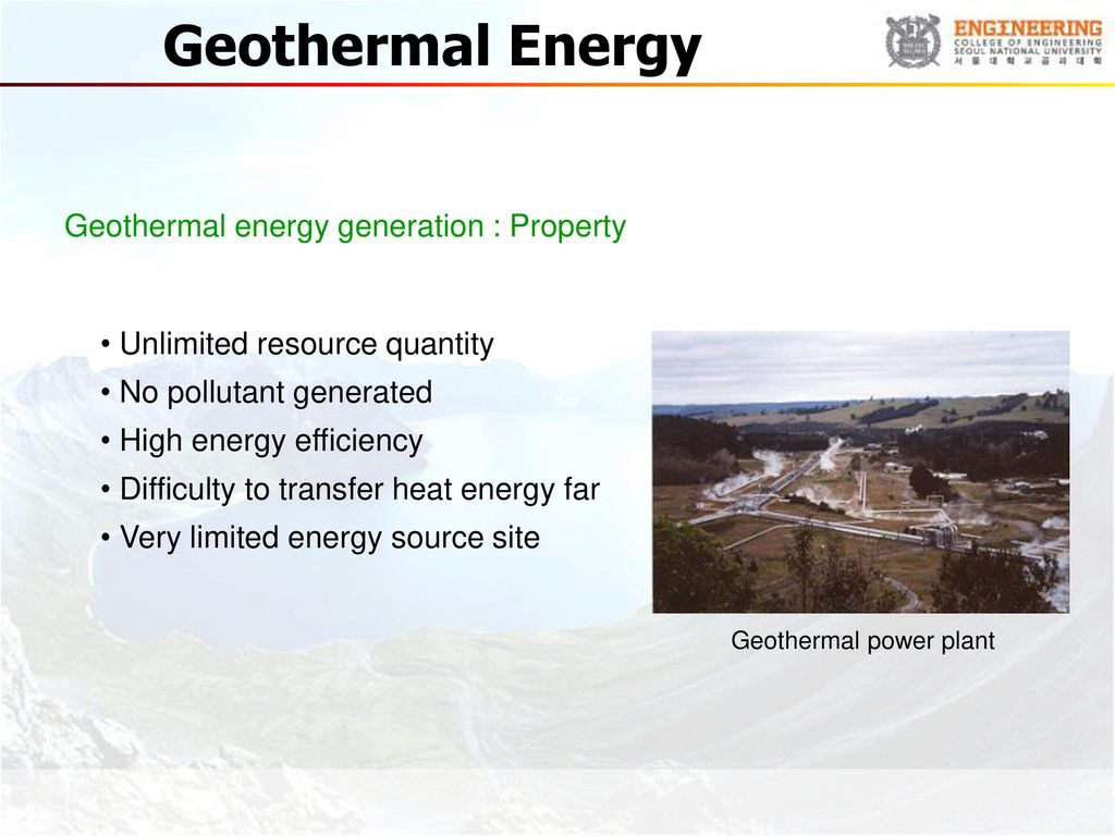 Environmental Thermal Engineering Ppt Download Geothermal Power Plant Schematic Diagram