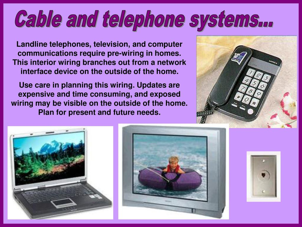 Operating Systems Of The Home Ppt Download Wiring For Network Cable And Telephone