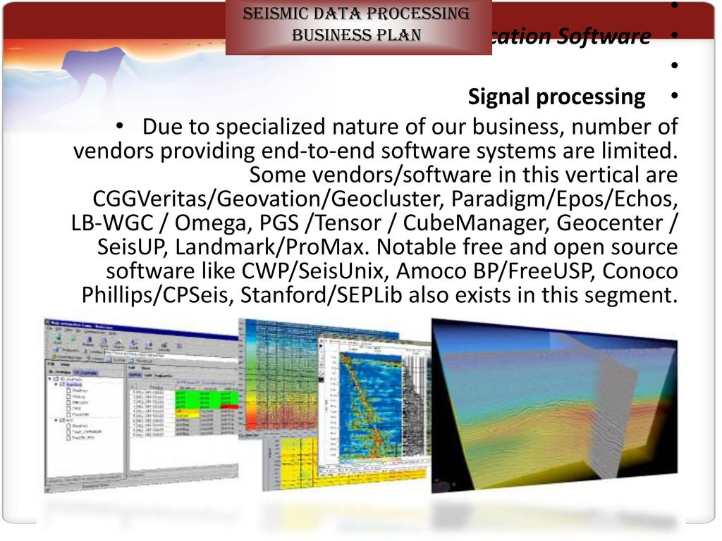 12 seismic data processing