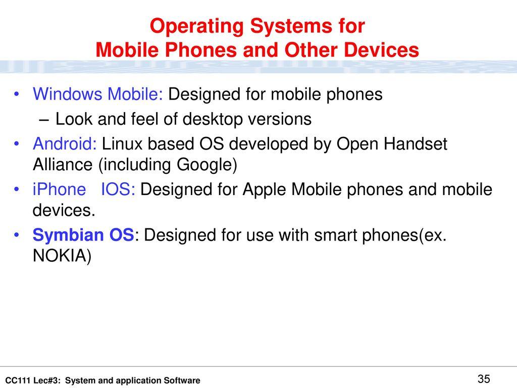 System and Application Software: Reference :Understanding Computers