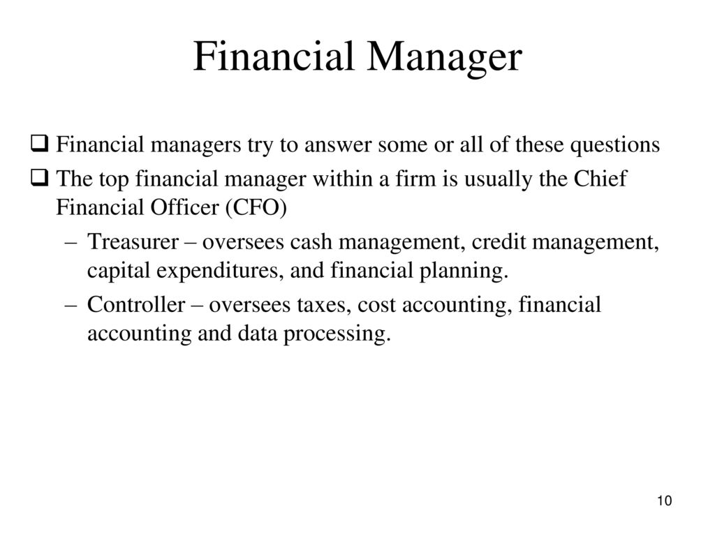 Corporate Finance Fall ppt download