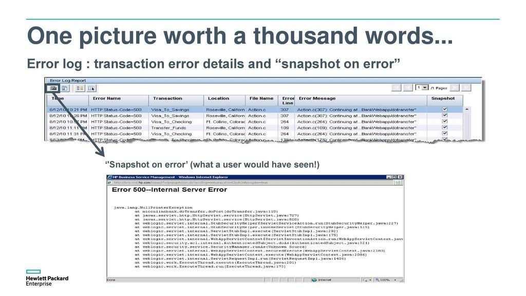HTTP STATUS CODE=500 (INTERNAL SERVER ERROR) IN LOADRUNNER