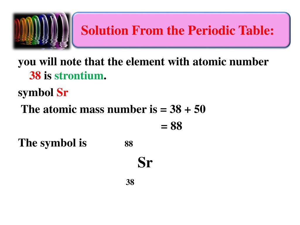 Strontium Atomic Mass Topsimages