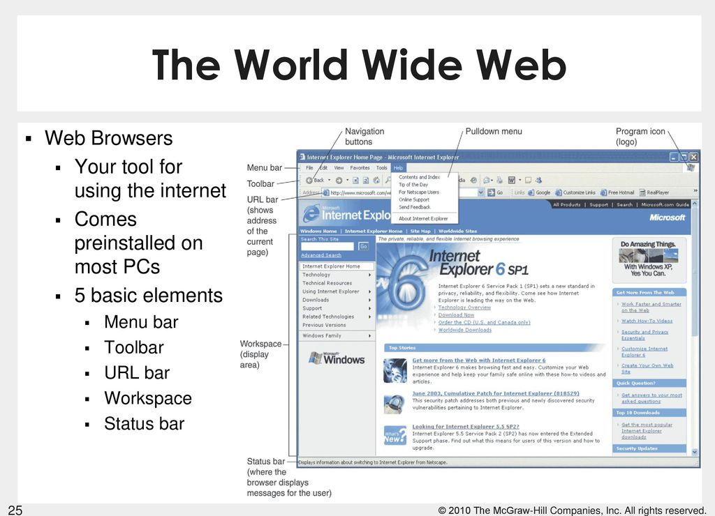 world wide web browser