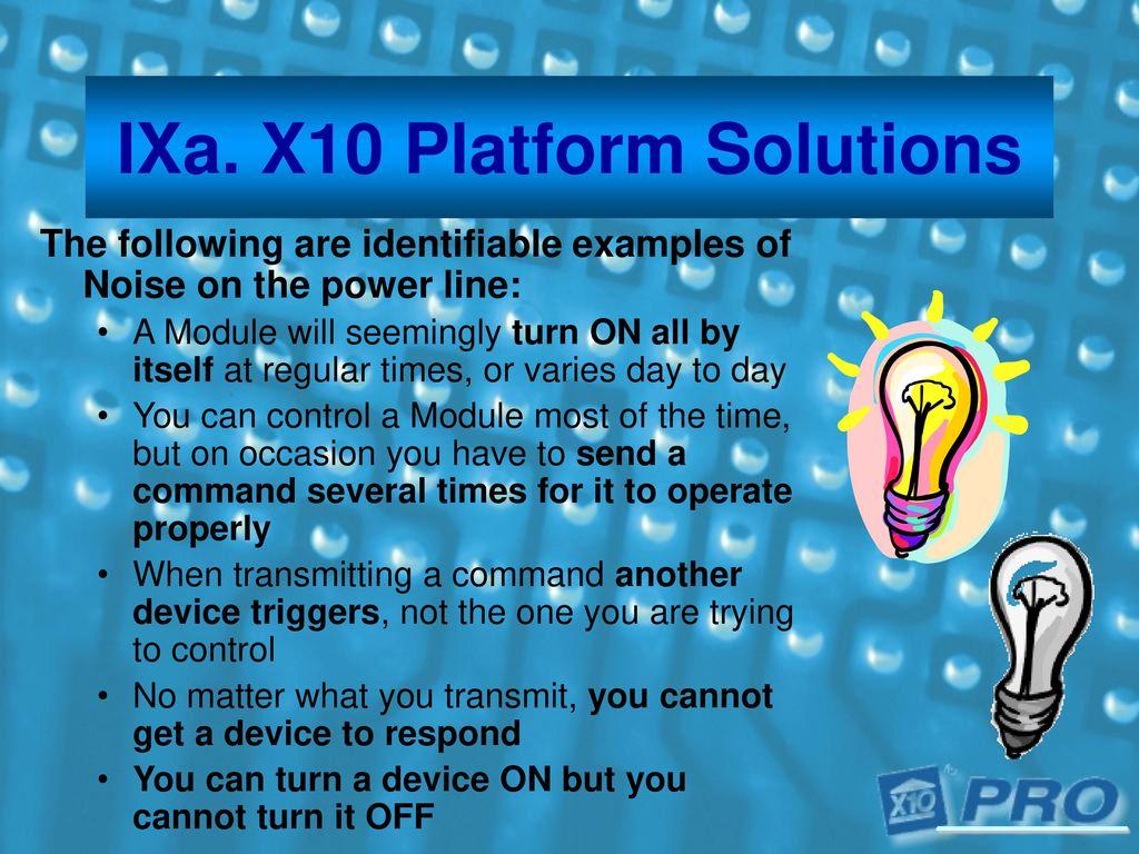 X10 Platform Solutions