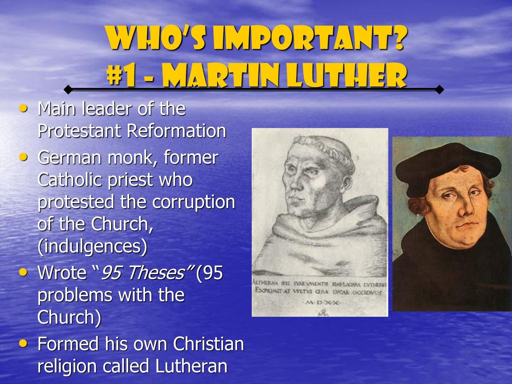 who was the leader of the protestant reformation in germany