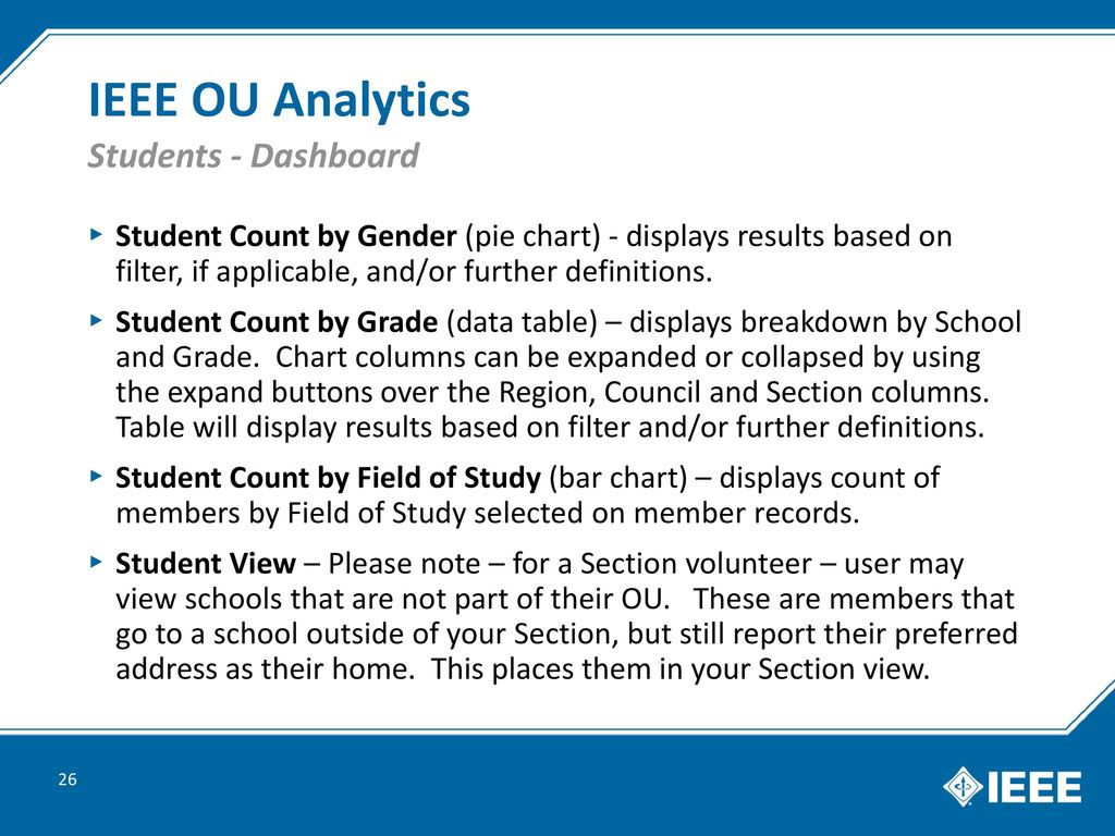 IEEE OU Analytics  - ppt download