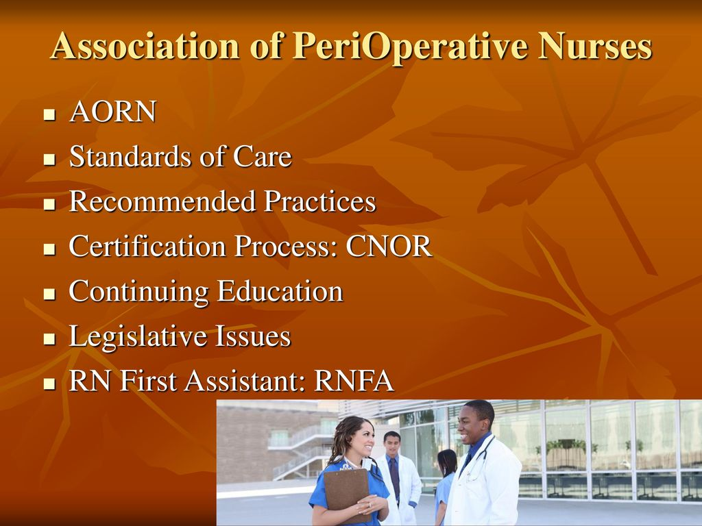 Perioperative Concepts And Management Ppt Download