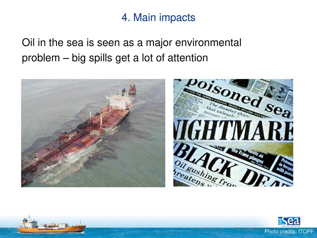 Discharges to the sea Oil Name – Date  - ppt download