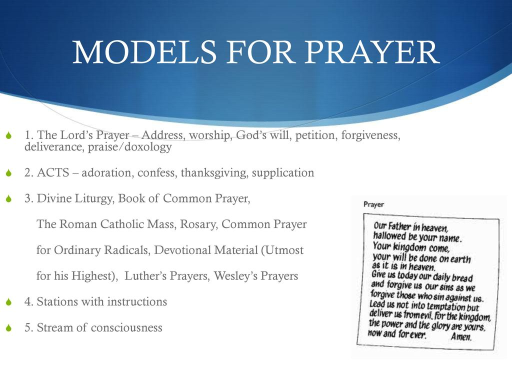 PRAYER ppt download