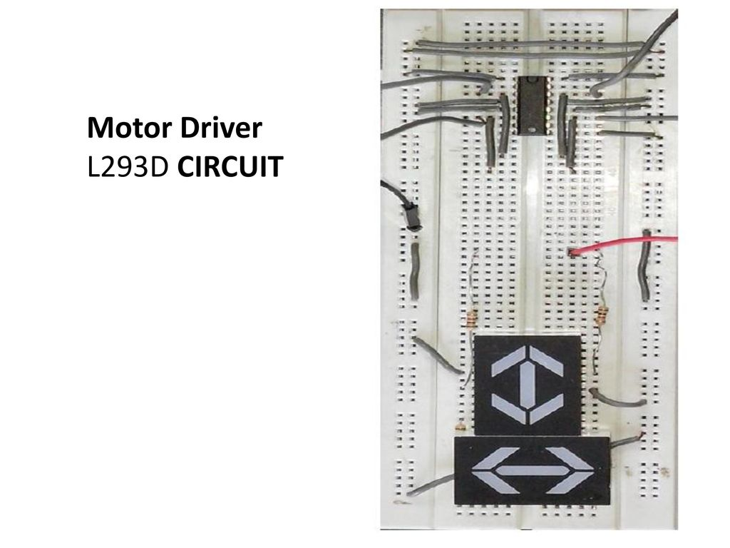 Gesture Controlled Robot Using Image Processing Ppt Download L293d Pin Diagram 27 Motor Driver Circuit