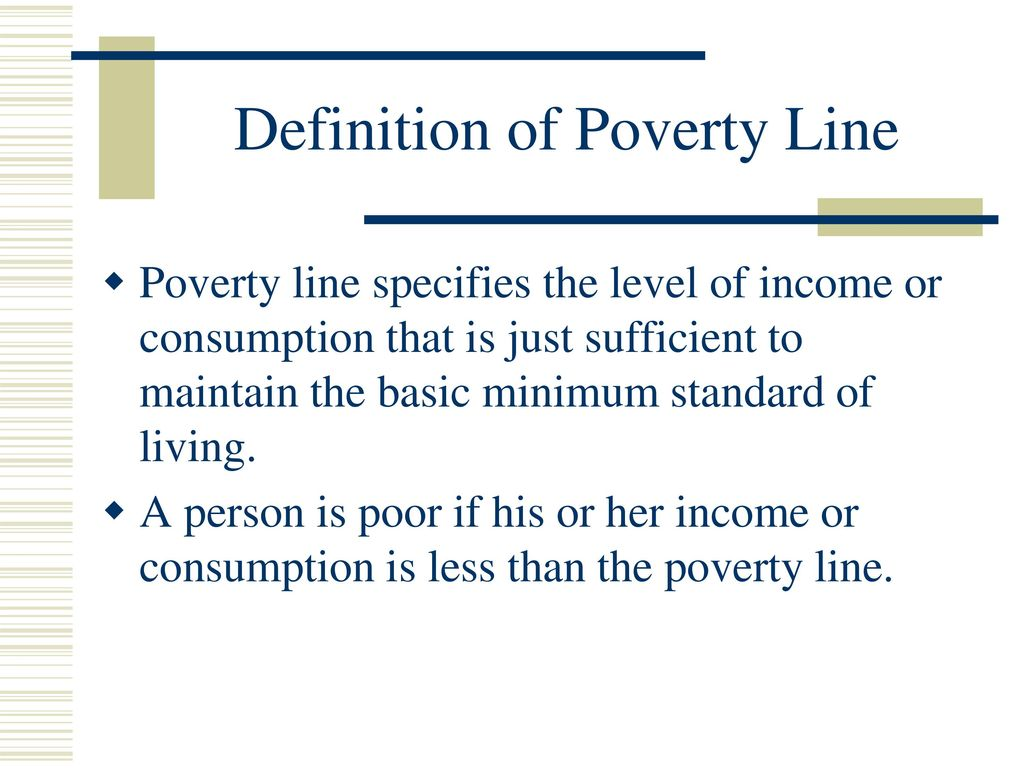 internationally comparable poverty lines - ppt download