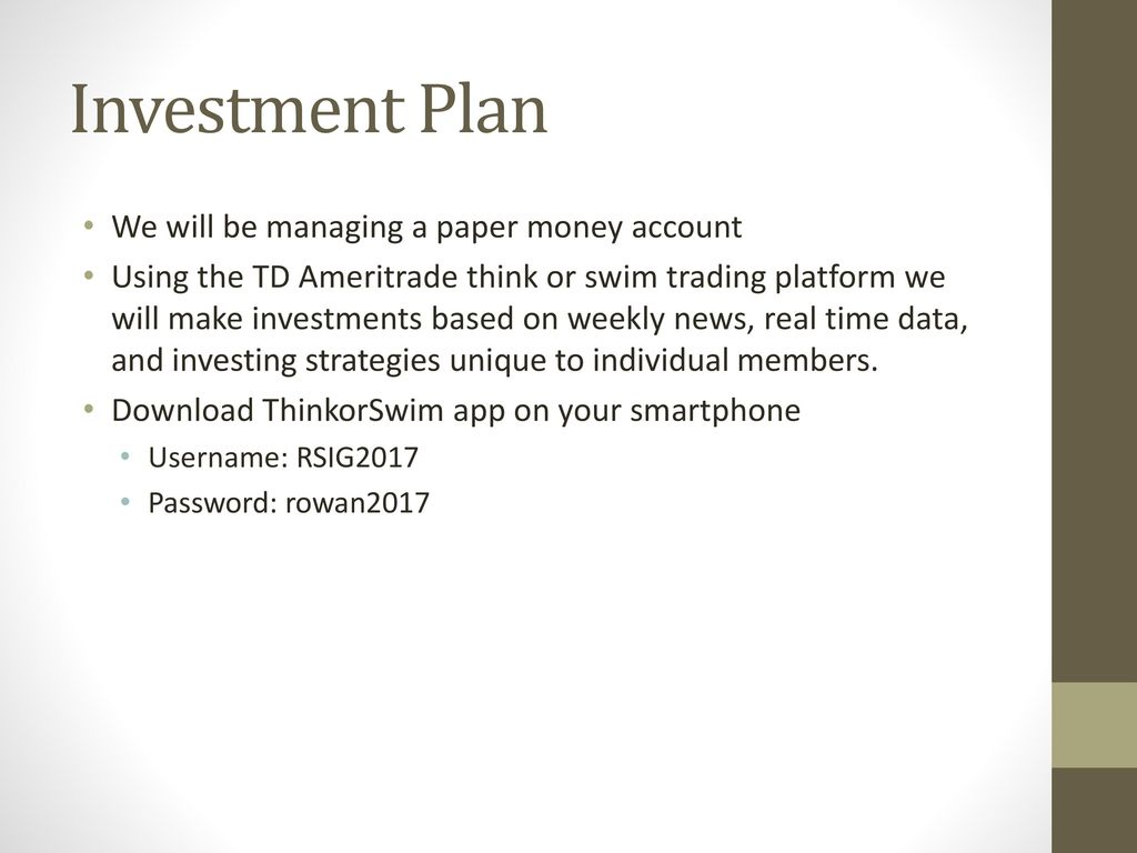 Rowan Student Investment Group - ppt download