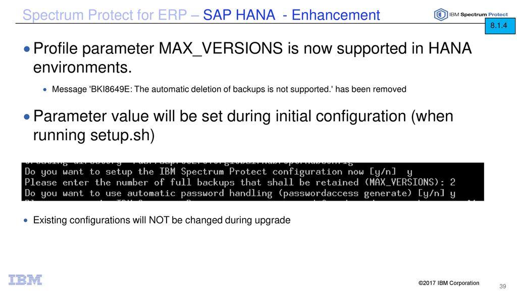 IBM Spectrum Protect v8 1 4 Technical Update - ppt download