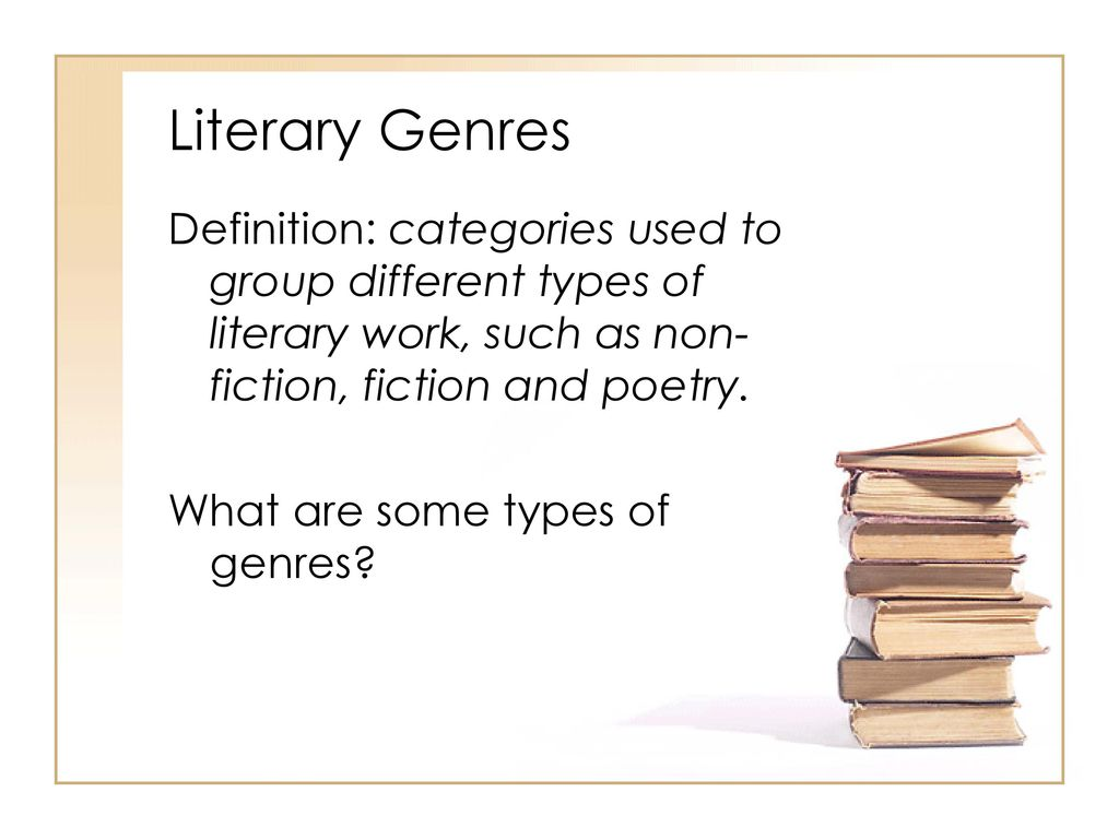 What is literature Definition. Main types and genres
