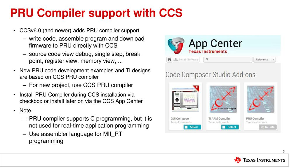 PRU-ICSS Programming with CCS - ppt download