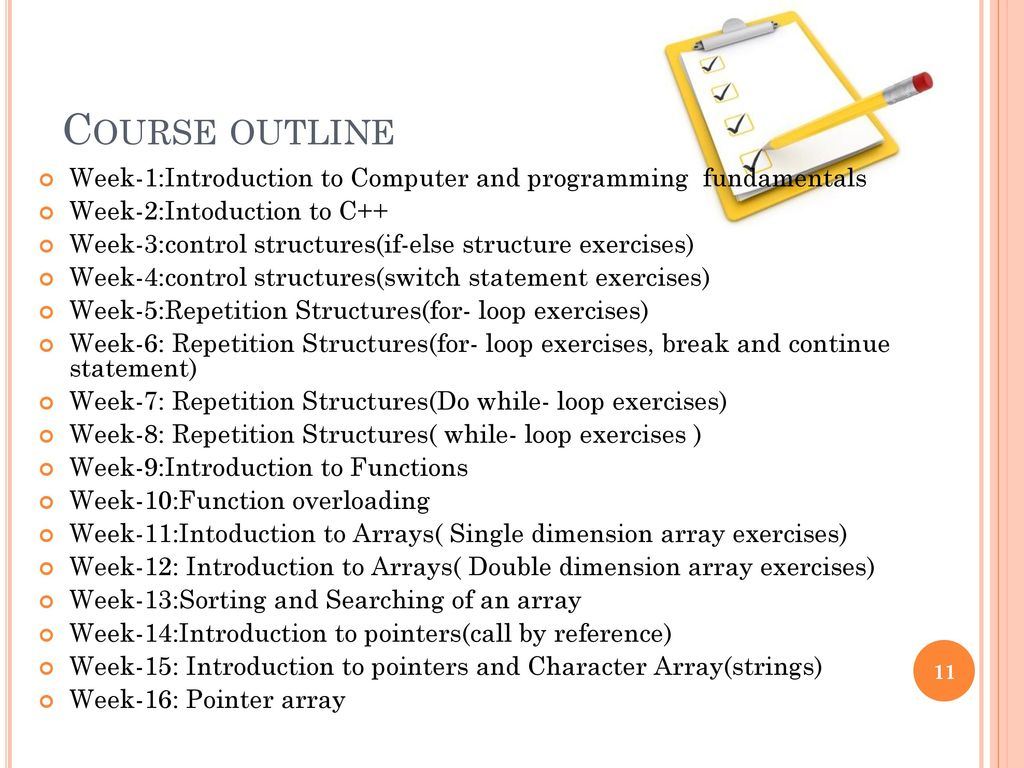 CSC-113: Computer Programming (Theory = 03, Lab = 01) - ppt download