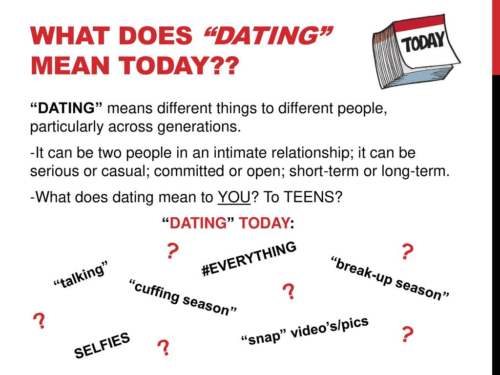 What is short term dating