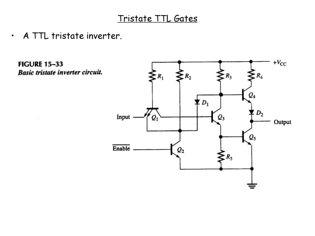 Ei205 Lecture 15 Dianguang Ma Fall Ppt Download Ttl Inverter Circuit Schematic 37 Tristate Gates A