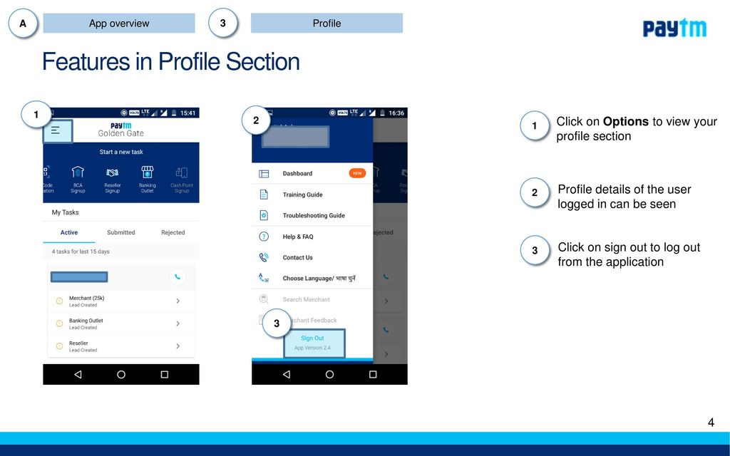 Golden Gate app : Existing functionalities - ppt download