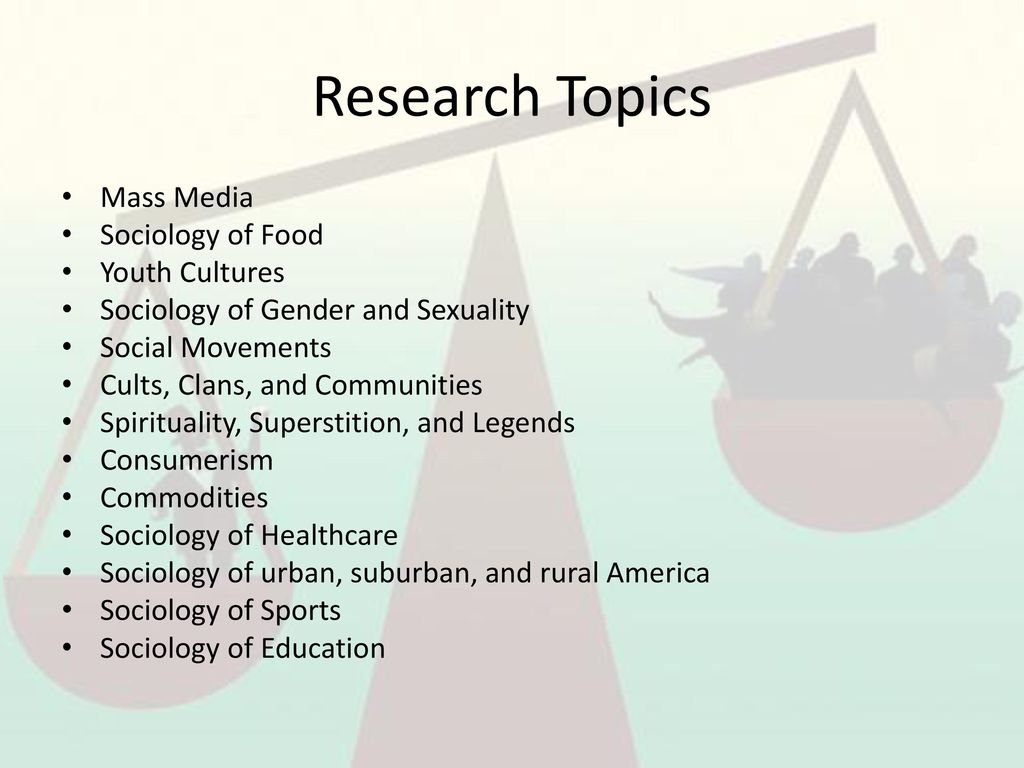 sport sociology research topics