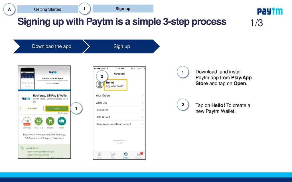 Paytm Partners Training Program - ppt download