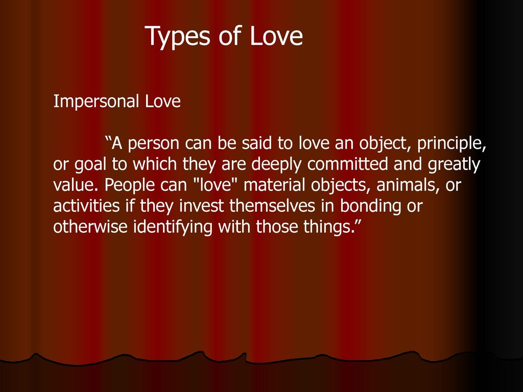 4 types of love or the evolution of relationships 19