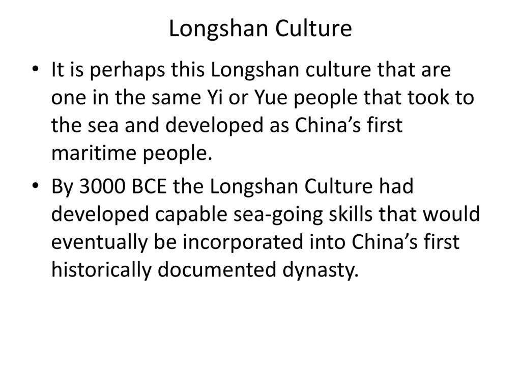 longshan culture in northeast china