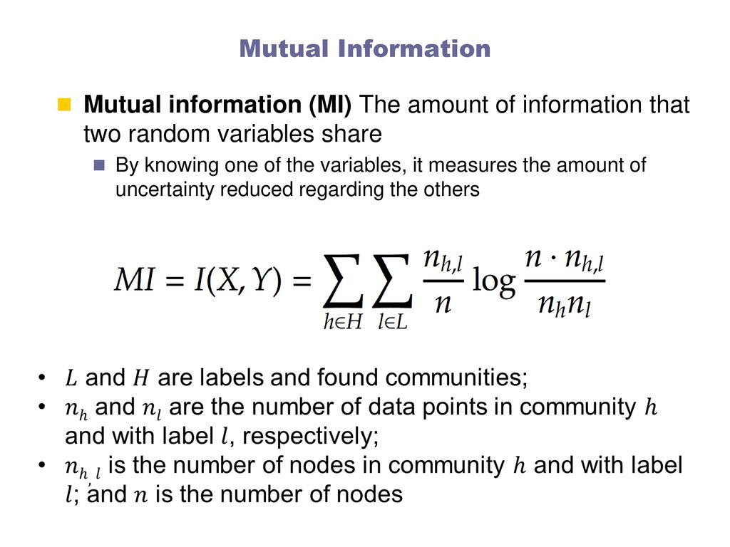 Measures and amount of information